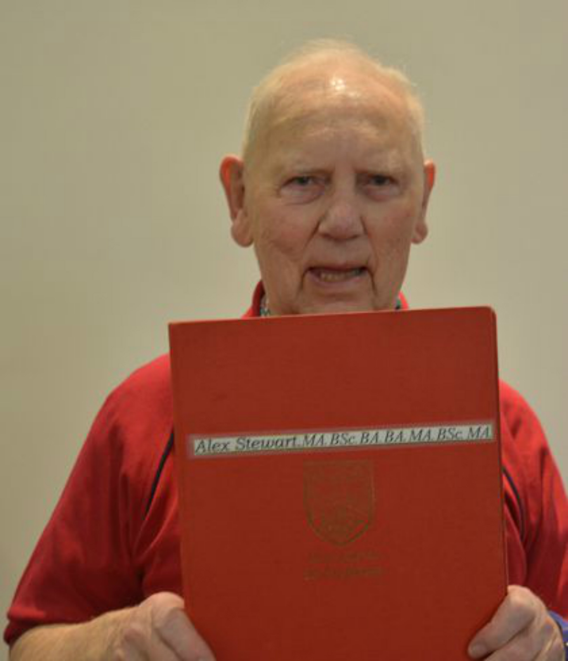 Scotland's oldest graduate bids to return to Abertay