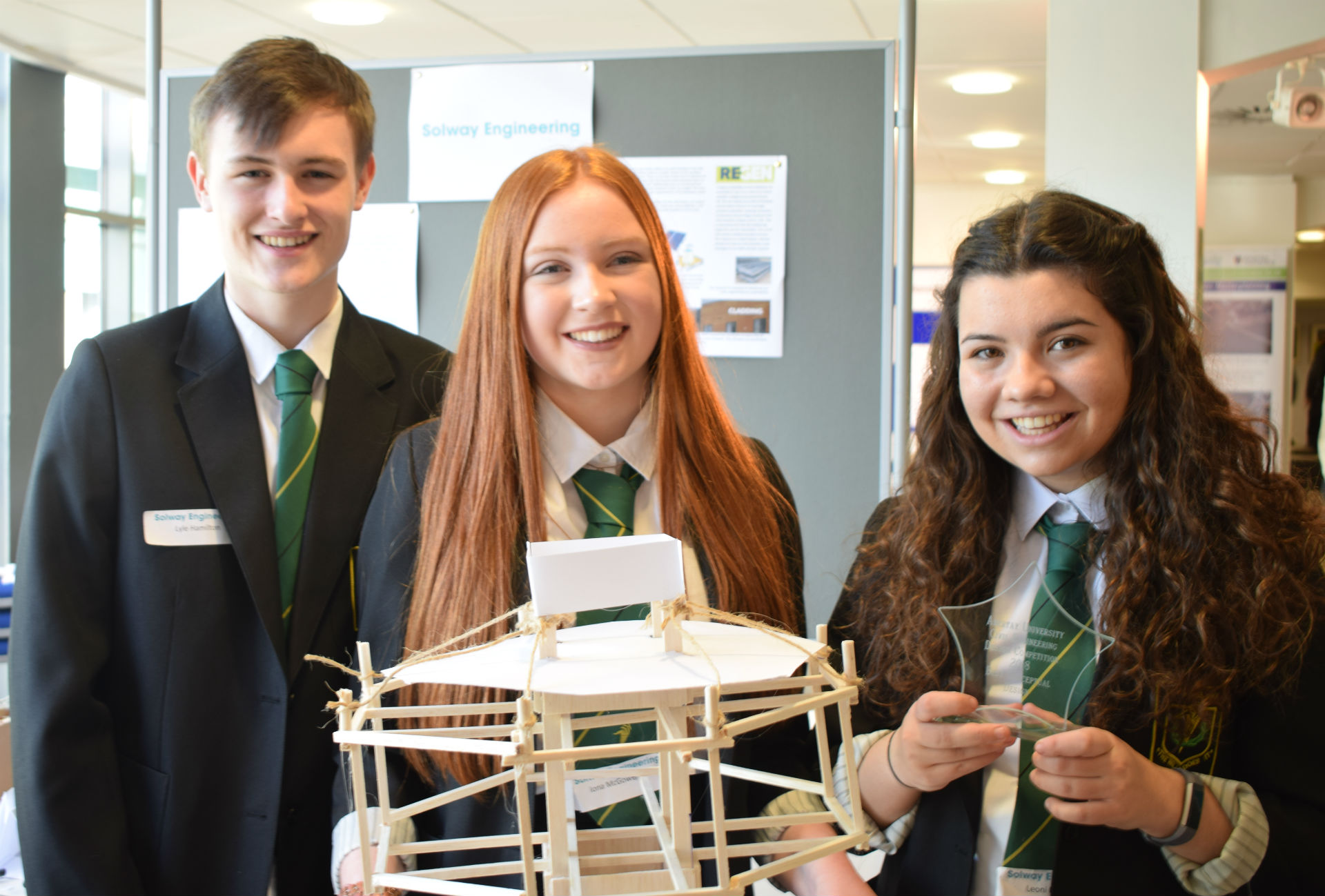 Engineering excellence at Scottish design contest