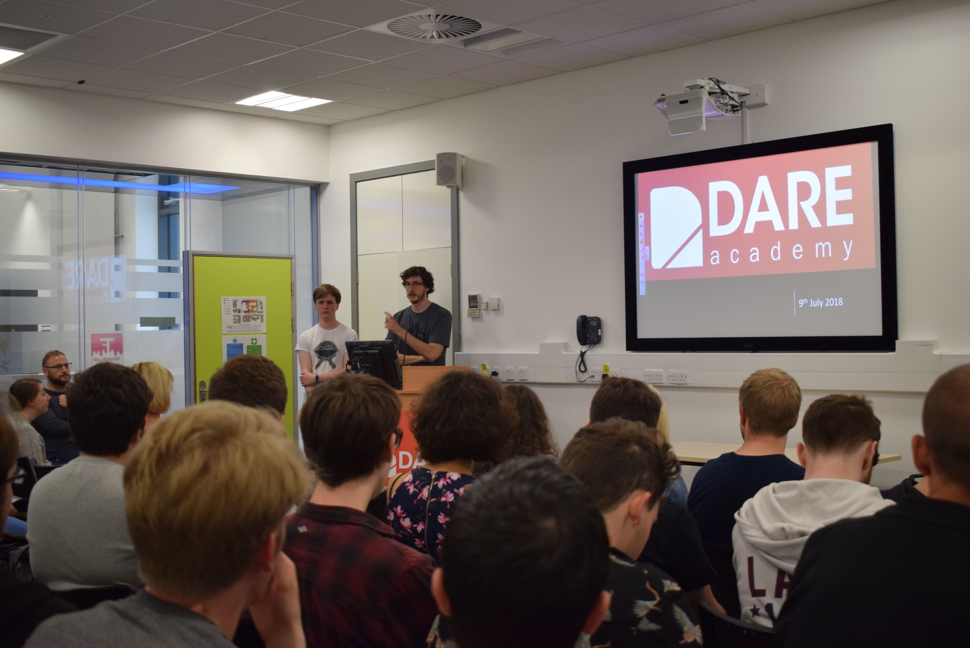 Dare Academy teams fired-up for hot-housing