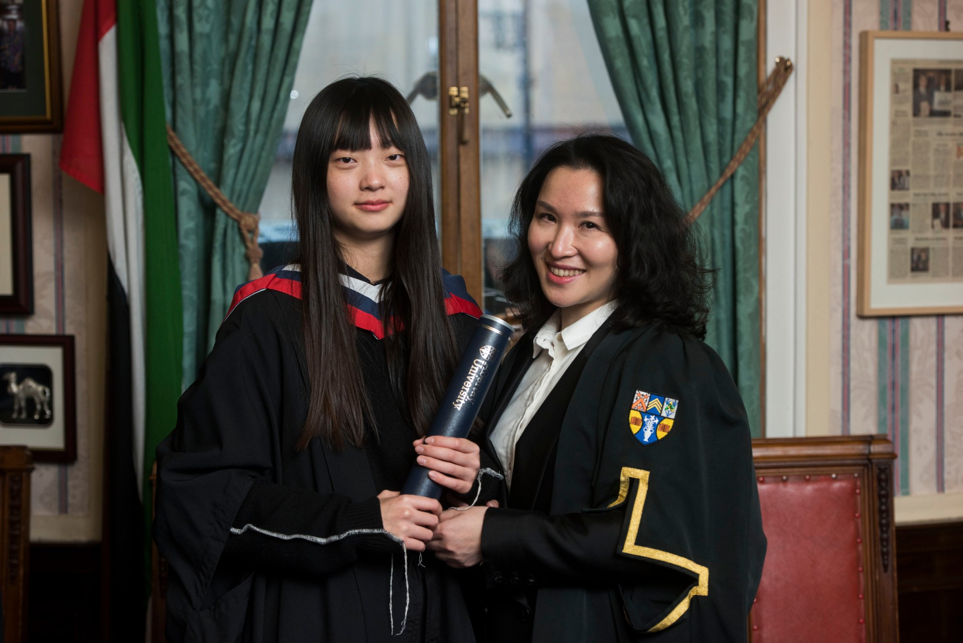 First students graduate from Abertay-China partnership