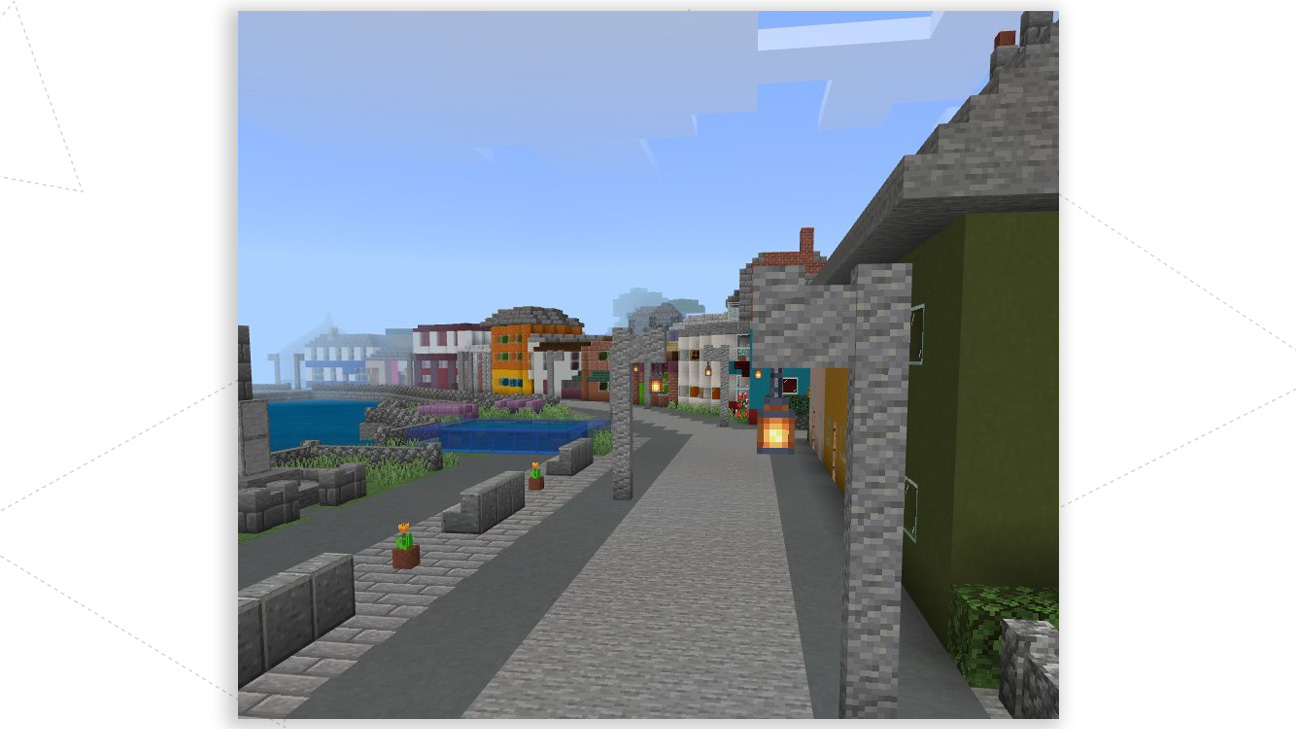 Abertay students recreate tourist hotspot the Isle of Cumbrae in Minecraft
